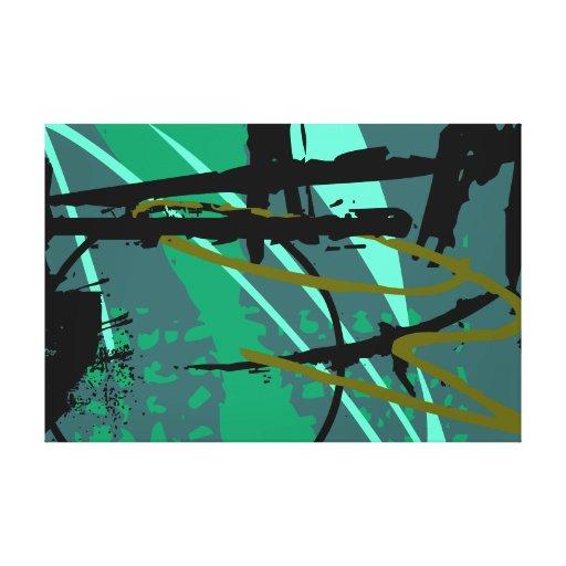 Modern abstract 60 x 40 canvas prints zazzle for Beistelltisch 60 x 40