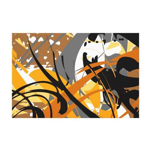 modern abstract 60 x 40 gallery wrap canvas zazzle. Black Bedroom Furniture Sets. Home Design Ideas