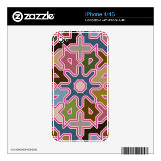 Modern abstract Arab tilings iPhone 4/4S skin Skins For The iPhone 4S