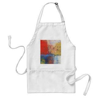Modern Abstract Art Adult Apron
