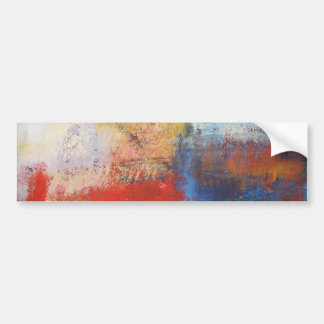 Modern Abstract Art Bumper Sticker