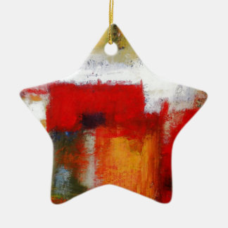 Modern Abstract Art Ceramic Ornament