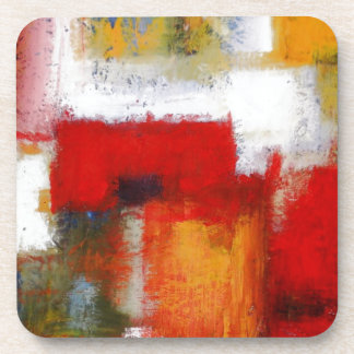 Modern Abstract Art Drink Coaster
