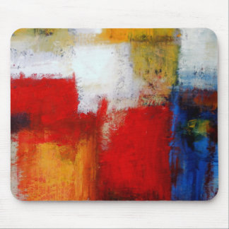 Modern Abstract Art Mouse Pad