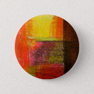 Modern Abstract Art Pinback Button