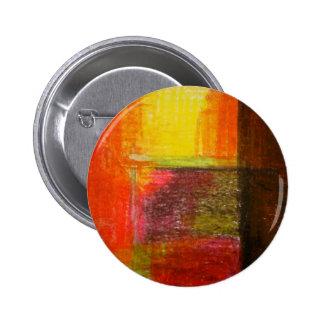Modern Abstract Art Pinback Button