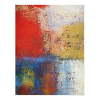 Modern Abstract Art Postcard