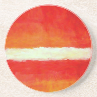 Modern Abstract Art - Rothko Style Coaster