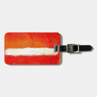 Modern Abstract Art - Rothko Style Luggage Tag