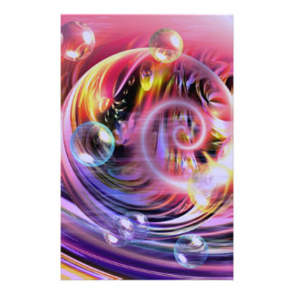 Modern Abstract Art Stationery