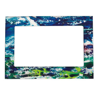 Modern Abstract Art Wild Color Picture Frame Magnetic Frames