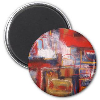 Modern Abstract Artwork Magnet