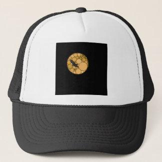 Modern Abstract Bird and Moon Trucker Hat