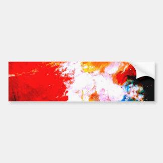 Modern Abstract Bumper Sticker