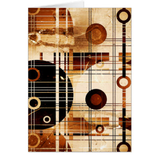 Modern Abstract Card