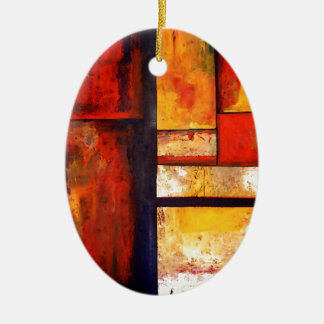 Modern Abstract Ceramic Ornament
