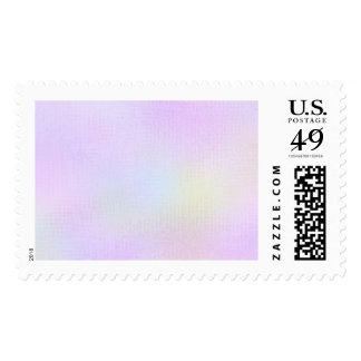 Modern Abstract Colorful Checkers Pattern. Postage