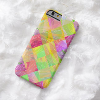 Modern Abstract Colorful Light iPhone 6 Cases Barely There iPhone 6 Case