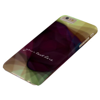 Modern Abstract Colorful Light iPhone 6 Plus Cases Barely There iPhone 6 Plus Case