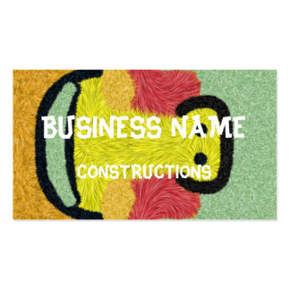 Modern abstract colorful patternn Double-Sided standard business cards (Pack of 100)