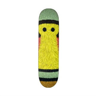 Modern abstract colorful patternn custom skate board