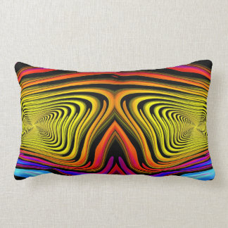 Modern Abstract Colorful Throw Pillow