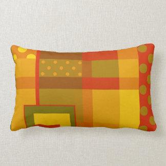 Modern Abstract Design Fall Pattern Pillow