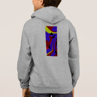 Modern abstract design hoodie