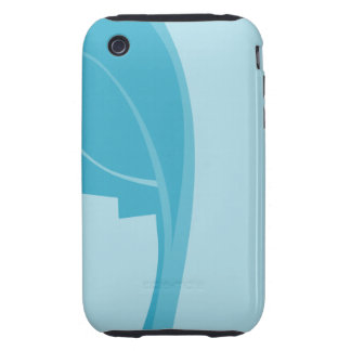 Modern Abstract Design. iPhone 3 Tough Cover