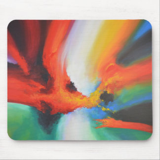 Modern Abstract Expressionism Acrlylic Painting Mouse Pad