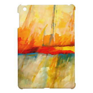 Modern Abstract Expressionist Painting iPad Mini Cases