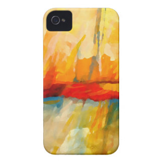 Modern Abstract Expressionist Painting iPhone 4 Case-Mate Case