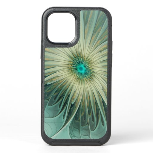 Modern Abstract Fantasy Flower Fractal Art OtterBox Symmetry iPhone 12 Case