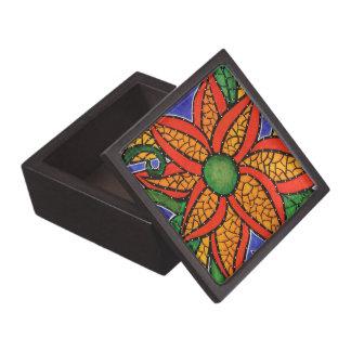 Modern Abstract Flower Gift Box