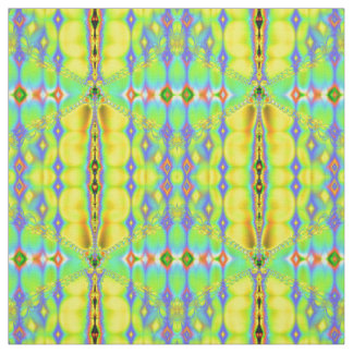 Modern Abstract Fractal Pattern Fabric