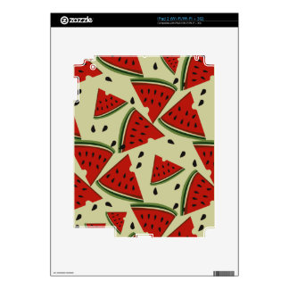 Modern Abstract Fruit Watermelon  Design Skin For The iPad 2