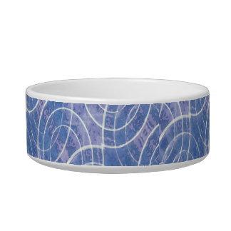 Modern Abstract Geometric Bowl