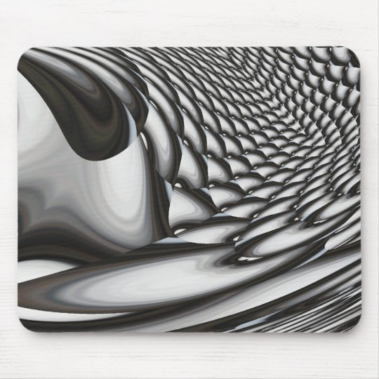 Modern Abstract - Geometric Digital Mouse Pad