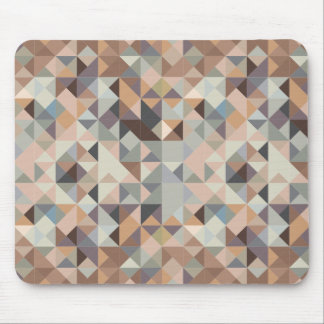 modern abstract geometric neutral mouse pad