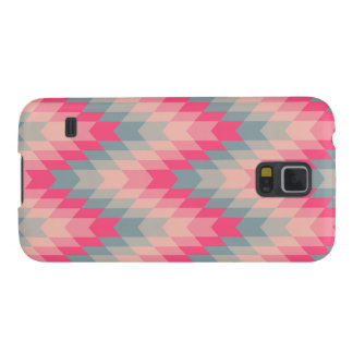 Modern Abstract Geometric Pattern Galaxy S5 Cover