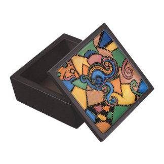 Modern Abstract Jewelry Box
