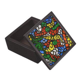 Modern Abstract Keepsake Box