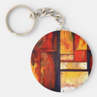 Modern Abstract Key Chain