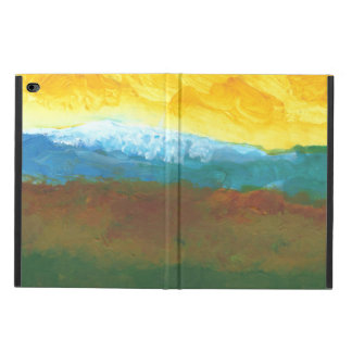 Modern Abstract Landcape Painting Powis iPad Air 2 Case