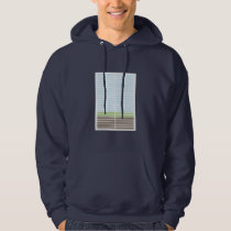 Modern Abstract Landscape Hoodie
