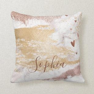 Brush Strokes Pillows Decorative Amp Throw Pillows Zazzle
