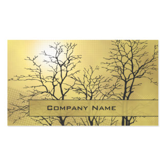 Modern Abstract Nature Business Card