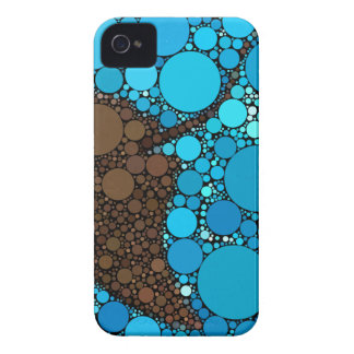 Modern Abstract Ocean Stingray iPhone 4 Case-Mate Case