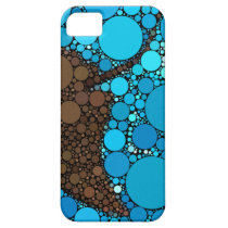 Modern Abstract Ocean Stingray iPhone SE/5/5s Case