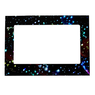Modern Abstract Outer Space Magnetic Frame